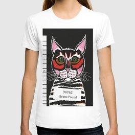 Cat Mug Shot T-shirt