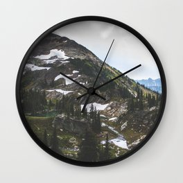 Twin Lakes Wall Clock