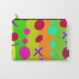 Party Time / Green Carry-All Pouch