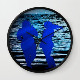 remember....on the beach at midnight? Wall Clock