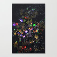 Starry Starry Night Neon (1) Canvas Print