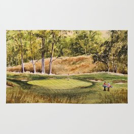 Merion Golf Course 17th Hole Rug