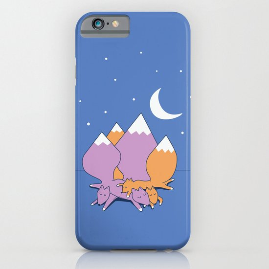 Let sleeping foxes lie iPhone & iPod Case