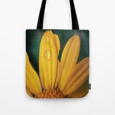 Yellow Water Tote Bag