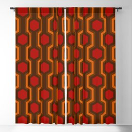Retro-Delight - Humble Hexagons - Haunted Blackout Curtain