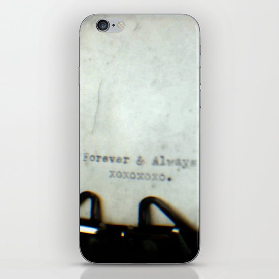 Forever and Always TTV iPhone & iPod Skin