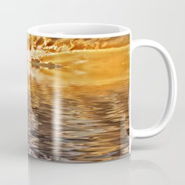Swan at Sunrise Coffee Mug