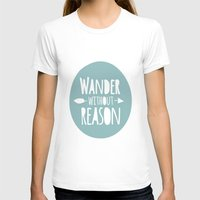 wander T-shirts featuring Wander by Zen and Chic