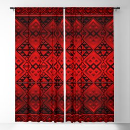 The Lodge (Red) Blackout Curtain