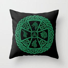 Celtic Nature 2 Throw Pillow