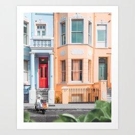 Morning in Notting Hill Art Print