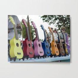 Play Some Rainbow! Metal Print