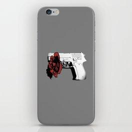 Hate kills love iPhone Skin