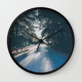 Road to the Light Wall Clock