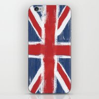 uk iPhone & iPod Skins featuring UK by Justified