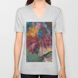 The Flowers Unisex V-Neck