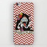 marceline iPhone & iPod Skins featuring Muertos Marceline by Jade Boylan