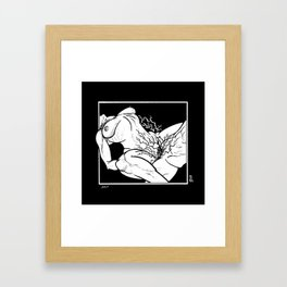 InkLATER: Jolt Framed Art Print