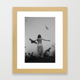 Bird Without Wings Framed Art Print