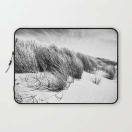 Sea and Sand, Kellogg Beach Dunes, Crescent City, Del Norte, California Laptop Sleeve