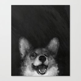 Sausage Fox Canvas Print