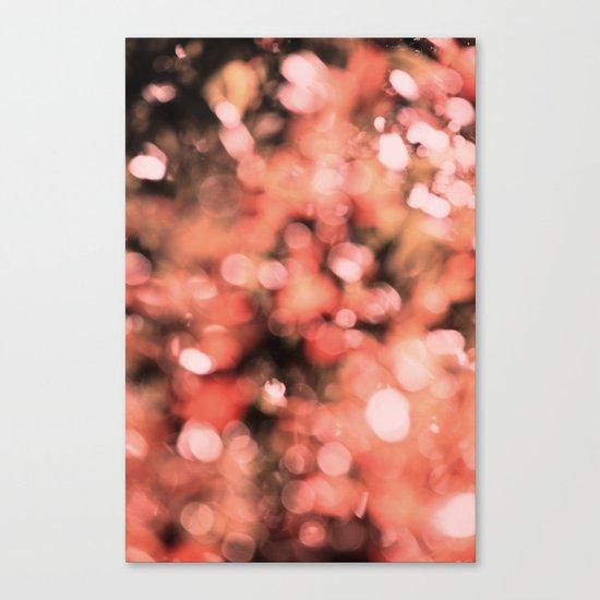 Bokeh Bubbly Canvas Print