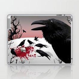"""Murder!"" She Crowed Laptop & iPad Skin"