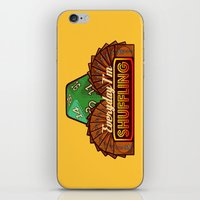 magic the gathering iPhone & iPod Skins featuring Everyday I'm Shuffling  |  Magic The Gathering by Silvio Ledbetter