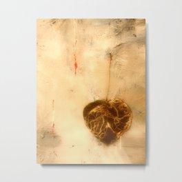 The Golden Heart Metal Print