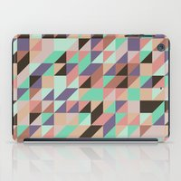 triangle iPad Cases featuring Triangle by Crazy Thoom