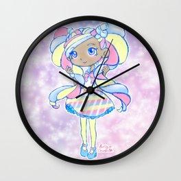 Cute Kawaii Marsha Mello Shopkins Shoppies Doll Art Wall Clock