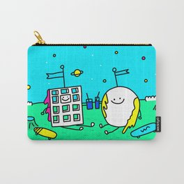 Waffle & Pancake Friends Carry-All Pouch