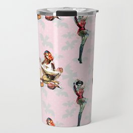 Zombie Pin Ups Travel Mug