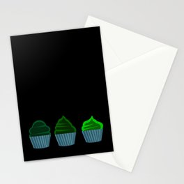 Pink Cupcakes Stationery Cards