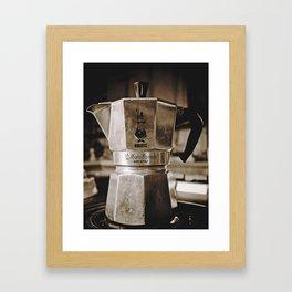 Forever Bialetti! Framed Art Print