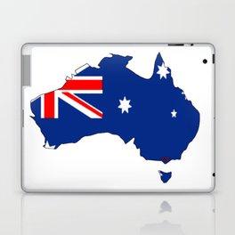 Australia Map with Australian Flag Laptop & iPad Skin