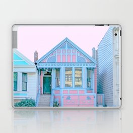 San Francisco Painted Lady Victorian House Laptop & iPad Skin