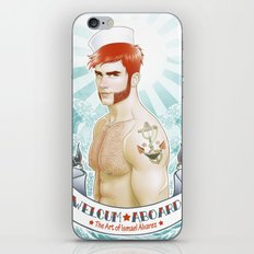 Welcum! iPhone & iPod Skin