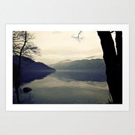 Still Life Loch Art Print
