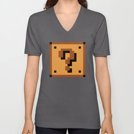 Question Block Unisex V-Neck