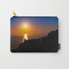 Oia sunset i Carry-All Pouch