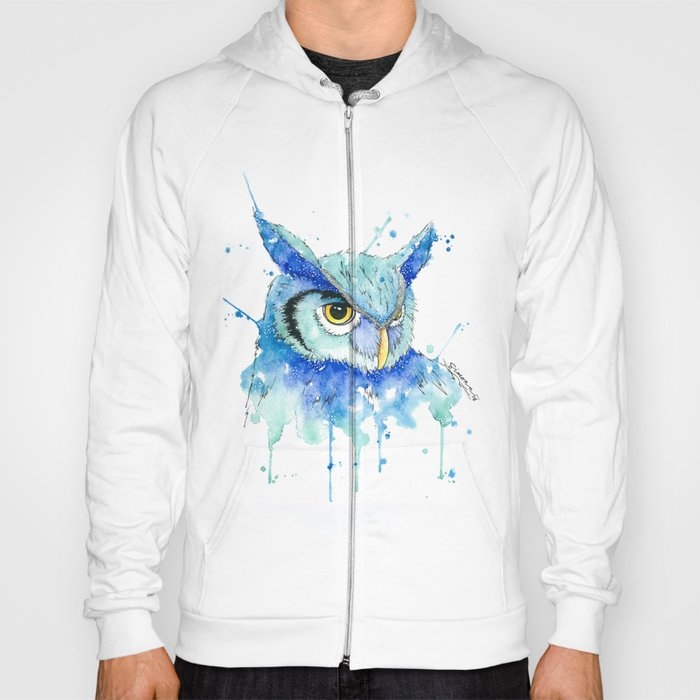 Color Hedwig  Hoody