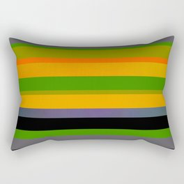 Tropical stripes Rectangular Pillow