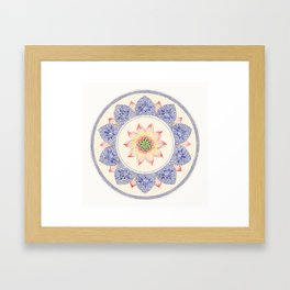 Carl Jung Design Framed Art Print
