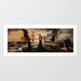Queens of Darkness Megaposter Art Print