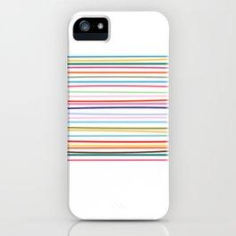 Carnival Stripe iPhone Case