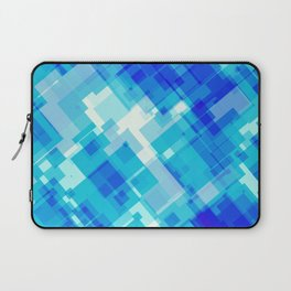 Digital Blue Pool Laptop Sleeve