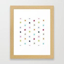 Jetson Dot Framed Art Print