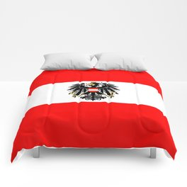 Austrian Flag and Coat of Arms Comforters