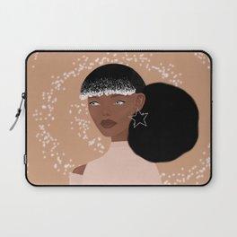 Afro & sparkle Laptop Sleeve